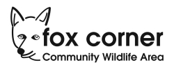 Fox Corner Community Wildlife - Logo