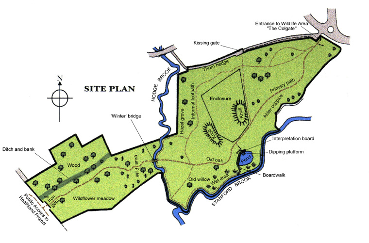 Fox Corner Wildlife Area - Site Plan